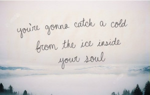 cold hearted #quotes #photography
