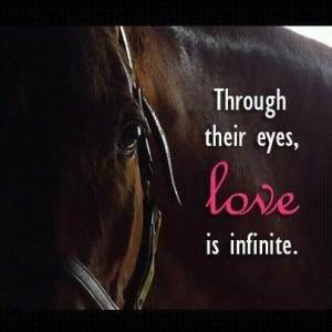 Through their eyes love is infinite