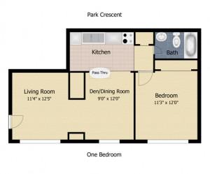 550 square foot apartment