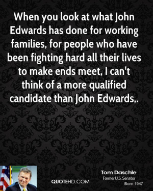 has done for working families, for people who have been fighting ...