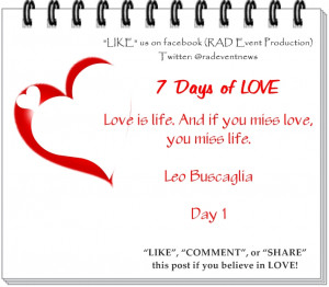 """Valentines (LOVE) – Love quotations for the next 7 Days. """"LOVE_IT ..."""