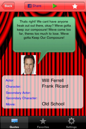 Will Ferrell: Quotables Lite (movie quotes soundboard) 2.0