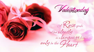 Rose Love Quotes Valentine Wallpaper