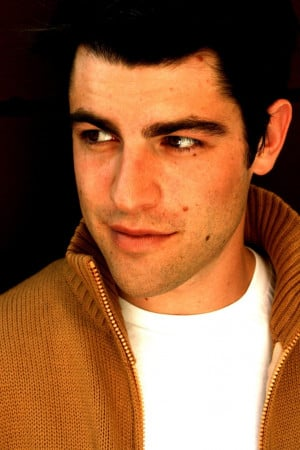 Max Greenfield. If he isn't in the Veronica Mars Movie I'm going to be ...