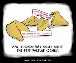 Schopenhauer was a misanthrope: