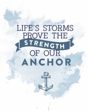 Nautical Anchor Stencil Printable Download anchor printable here