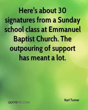 Sunday School Quotes