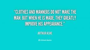 Manners Quotes