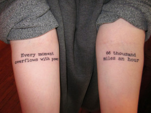 Music quotes for tattoos for men and boy