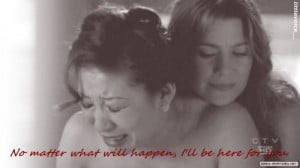 Christina and Meredith Friendship Quotes | Meredith Gray #Cristina ...