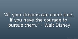 Walt Disney Graduation Quotes