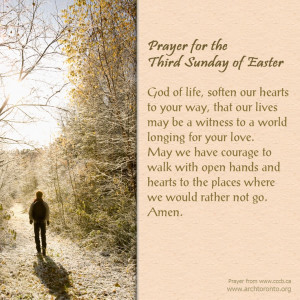 Prayer for the Third Sunday of Easter