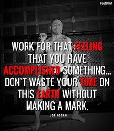 Joe rogan quote More