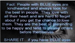 People with Blue eyes quote... | Quotes and sayings