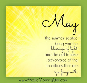 May the summer solstice bring you the blessings of light and the call ...