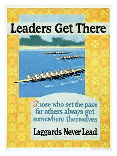 ... the Pace For Others Always Get Somewhere Themselves ~ Leadership Quote