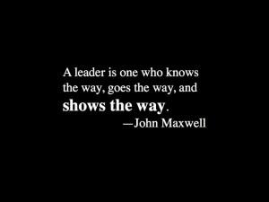 John Maxwell #inspirational #quote on leadership