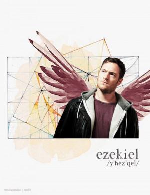Tahmoh Penikett as Ezekiel. #SPN