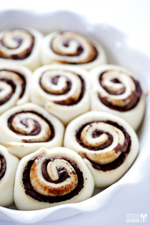 Hour Nutella Cinnamon Rolls...