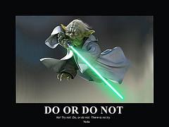 Film Poster - Star Wars - Yoda Quote (Kilo 66 (Over 4.4 Million Views ...