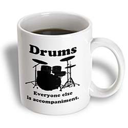 EvaDane Funny Quotes Drums everyone else is accompaniment. Drummer ...