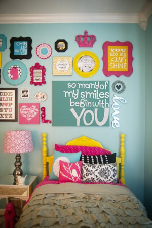 ... quote. Love collage of quotes. Bed frame color, wall color, accent
