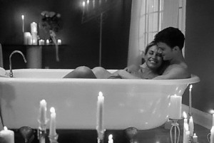bath, cute couples, love, together, you and me