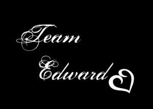 Team Edward...