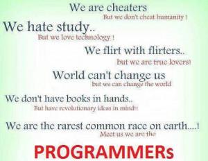 TechJokeOfTheDay :Meet Us Programmers