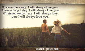Long Distance Relationship Quotes about Long Distance Love