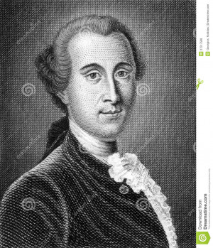 Johann Georg Ritter Von Zimmermann Editorial Stock Photo - Image ...