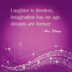 Walt Disney Quotes About Imagination Imagination has no age,