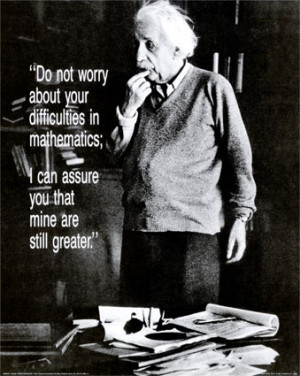 ... found out Albert Einstein did not fail at mathematics in school