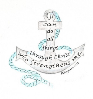 Bible Verses Quotes Tattoo'S, Anchors Bible Quotes Tattoo'S ...