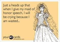 speech maid of honor maid of honour speech thought maid of honor ...