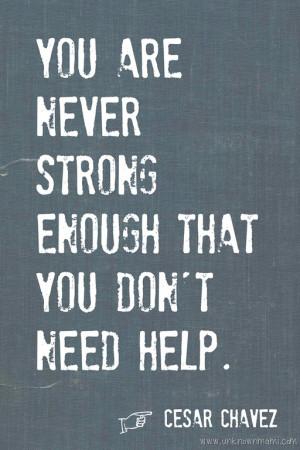 Quotes Cesar Chavez...