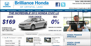 Brilliance Honda of Crystal Lake has a dedicated Internet Sales Team ...