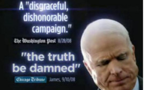 Barack Obama ad quotes press remarks about John McCain's campaign ...