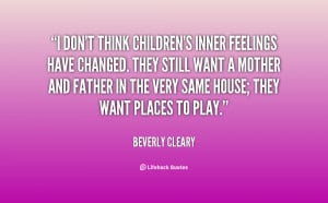 Quotes by Beverly Cleary