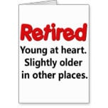 ... it is appropriate to use a quote about retirement in a card message