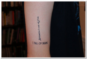 View More: Literary Tattoos