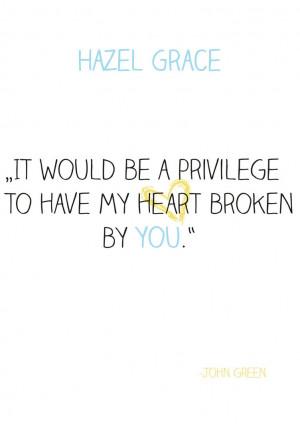 Hazel Grace Quotes Hazel grace by weasleytwin