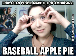 Funny Pictures Asian People Making fun of americans