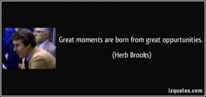 More Herb Brooks Quotes