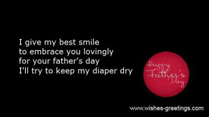 Fathers day quotes baby boy or girl