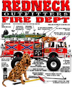 Redneck Quotes About Trucks Redneck fire trucks.