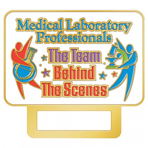 Medical Laboratory Professionals The Team Behind The Scenes Lapel Pin ...