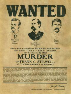 Picture Wyatt Earp Doc Holliday | Doc Holliday Wyatt Earp Warren Earp ...