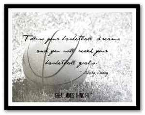 basketball dreams poster and quote 018