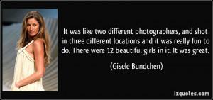 More Gisele Bundchen Quotes